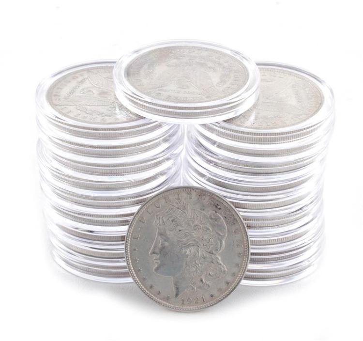 †Morgan silver dollar coins (20pcs)