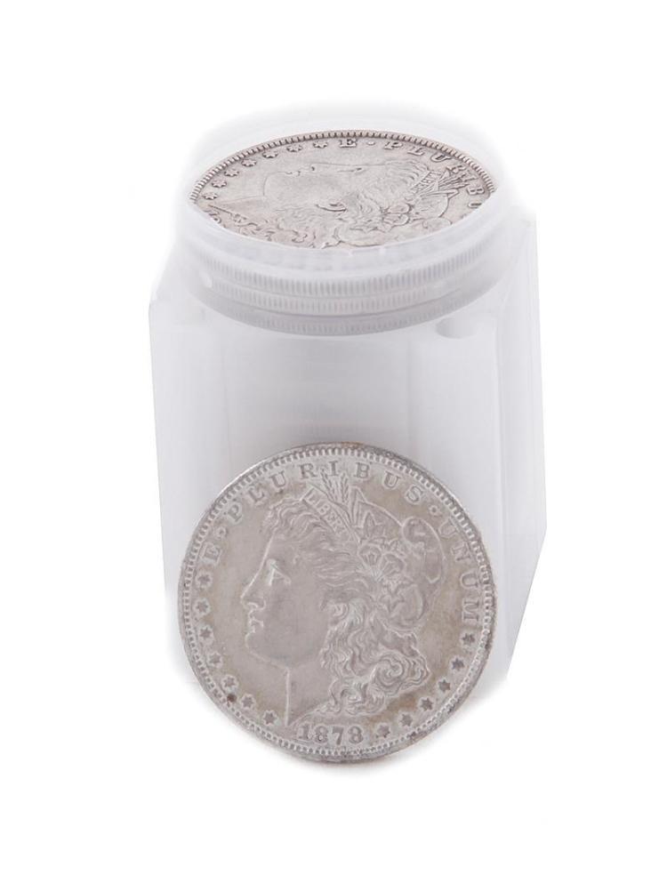 †Pre-1900 Morgan silver dollar coins (21pcs)