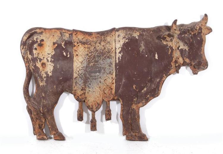 Montier cast-iron figure of cow