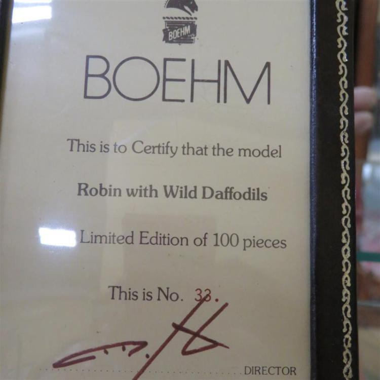 Boehm porcelain birds (4pcs)