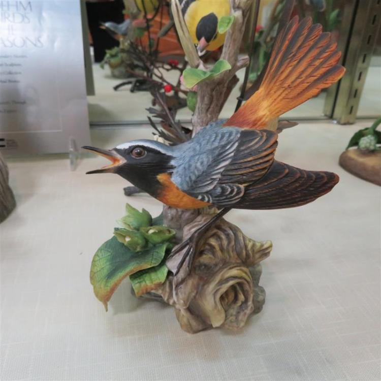 Boehm porcelain songbirds (5pcs)