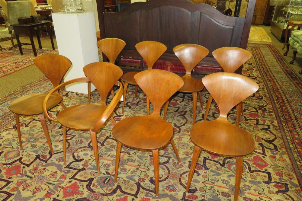 Norman Cherner Dining Chairs (8pcs)