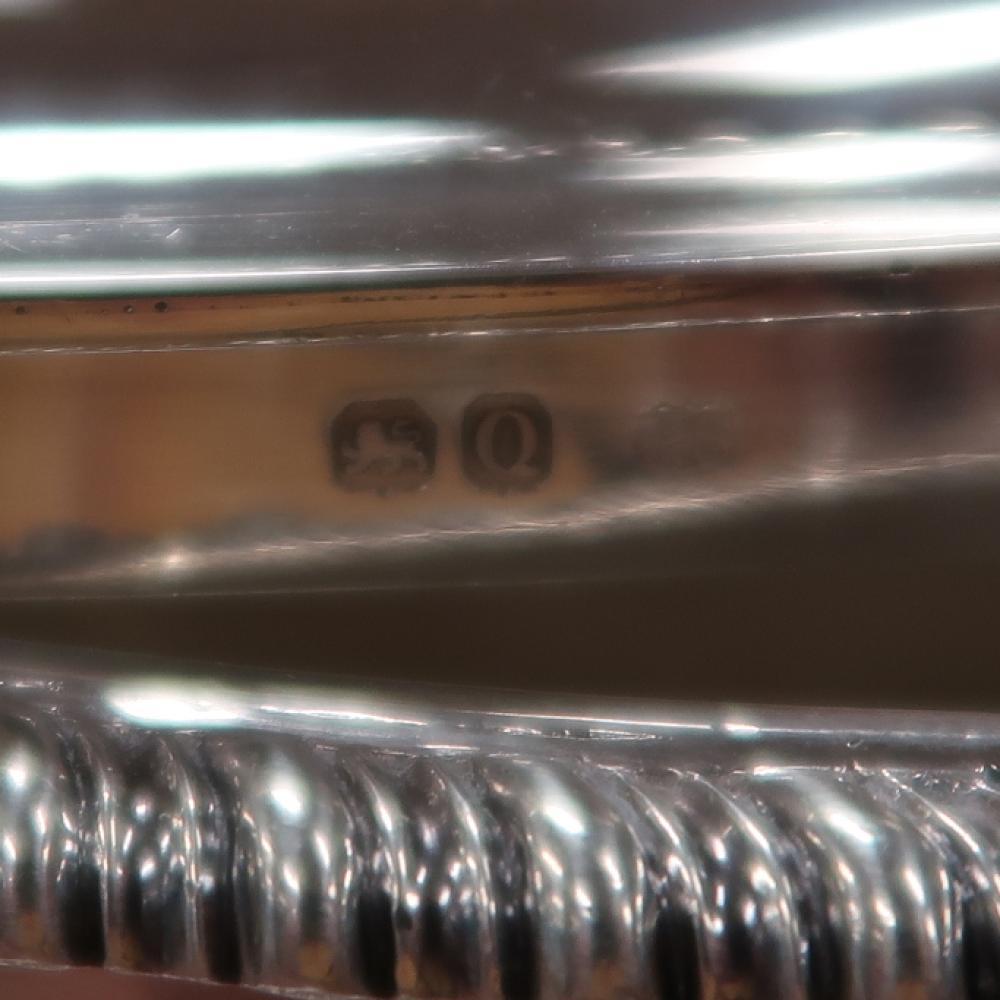 Fine Pair Regency Sterling Silver Sauce Tureens, Paul Storr (2pcs)