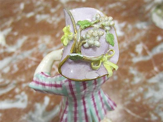 Meissen porcelain figures of performers (3pcs)