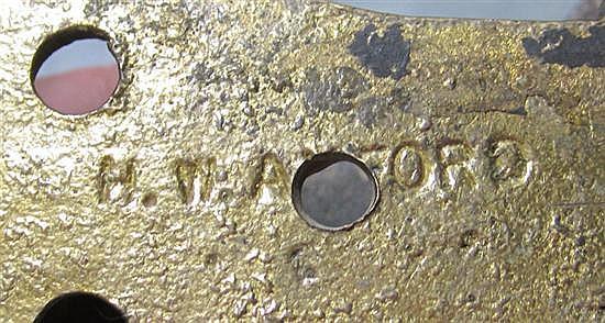 Bronze door knockers (2pcs)