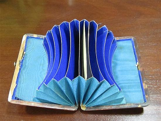 English shell-clad caddy, cases and boxes (7pcs)