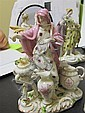 Image 2 for German porcelain allegorical figures of the four seasons (4pcs)