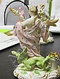 Image 10 for German porcelain allegorical figures of the four seasons (4pcs)