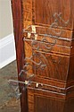Image 3 for Louis XV mixed wood veneer serpentine commode