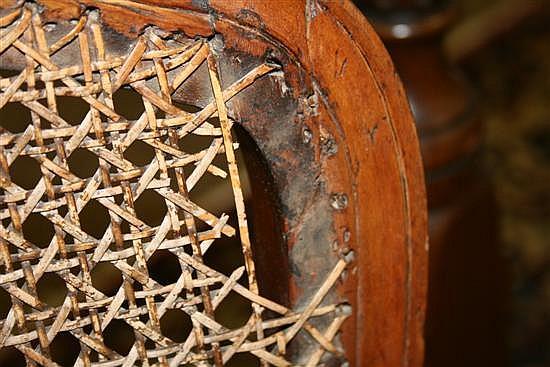 Louis XV walnut side chair set (3pcs)