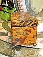 Image 12 for Chinoiserie-decorated shell double tea caddy