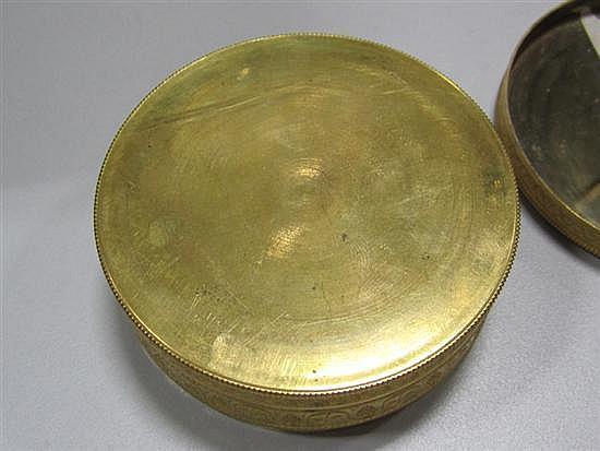 French Empire bronze-dore box