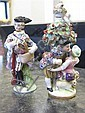 Image 11 for German miniature porcelain figure collection (10pcs)