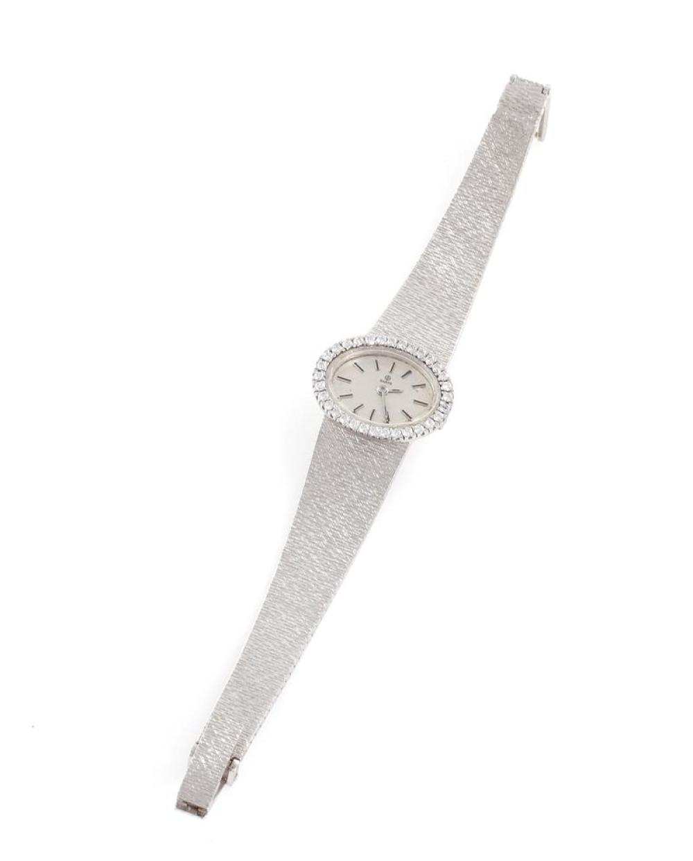 Ebel 18K gold and diamond wristwatch, retailed by Barth