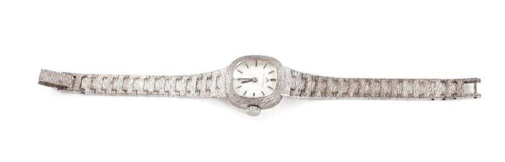 Bucherer silver wristwatch