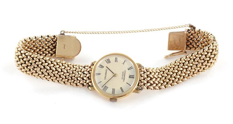 Tiffany & Co gold wristwatch