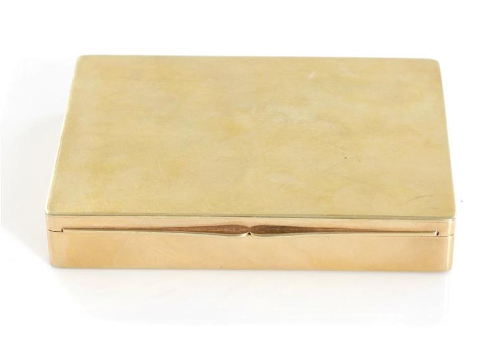 Vintage gold box