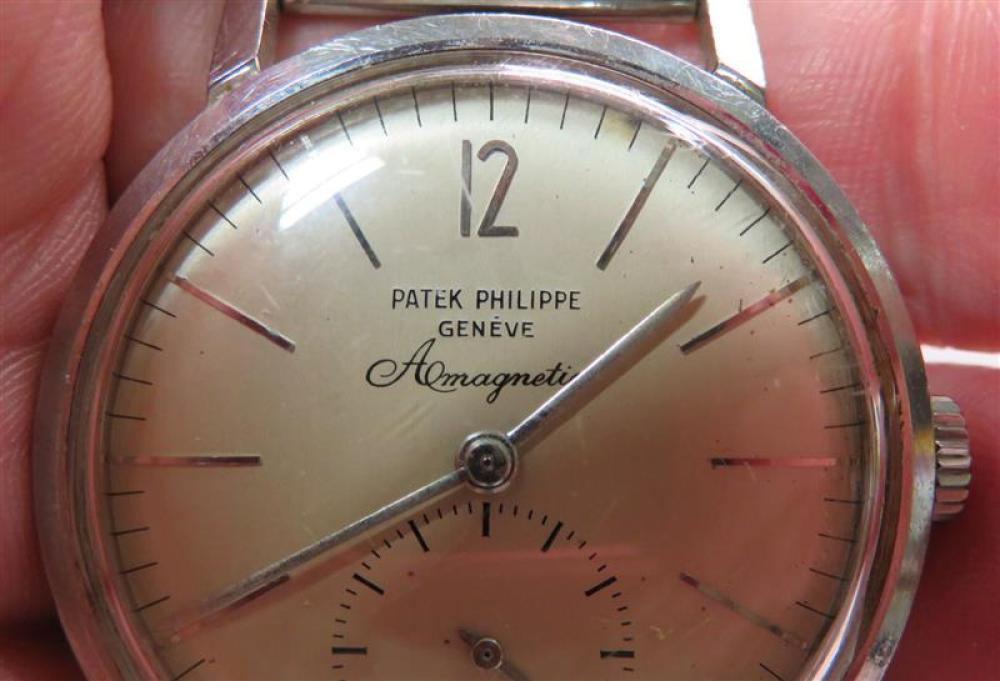 Rare Patek Phillipe antimagnetic wristwatch in original box