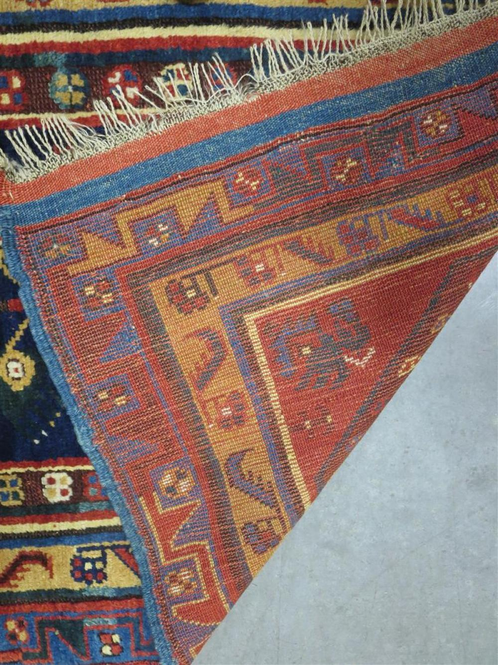 Kurdish tribal rug
