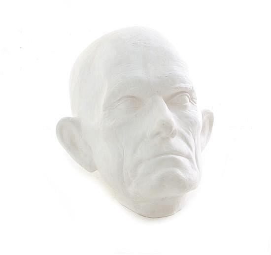 Life mask of John C. Calhoun after Clark Mills