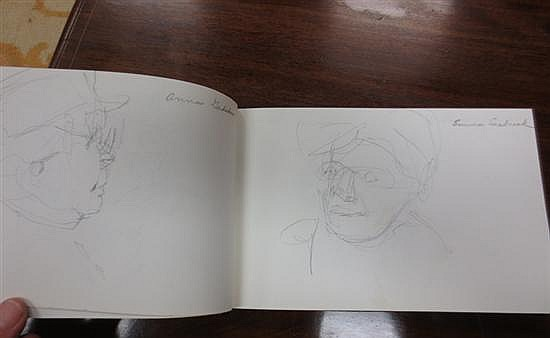 Collection of sketchbooks by Virginia Fouche Bolton (2pcs)