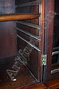 Image 2 for George III style inlaid mahogany breakfront bookcase
