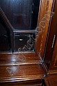 Image 4 for George III style inlaid mahogany breakfront bookcase