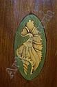 Image 7 for English Hepplewhite style inlaid mahogany corner cupboard