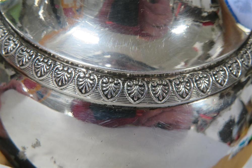 Fine French silver coffee pot