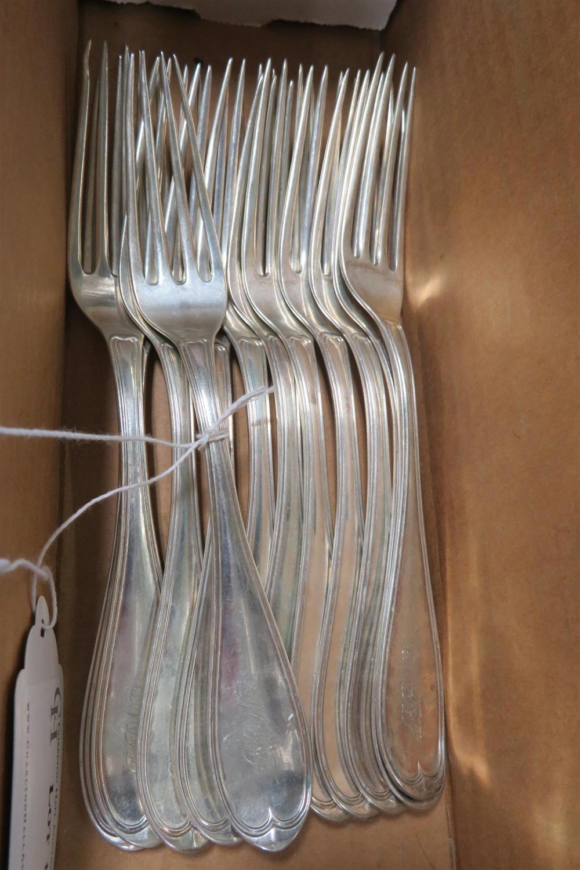 Southern silver fork set, Kentucky (12pcs)