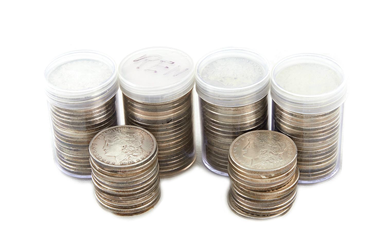 †Morgan silver Dollar collection (105pcs)
