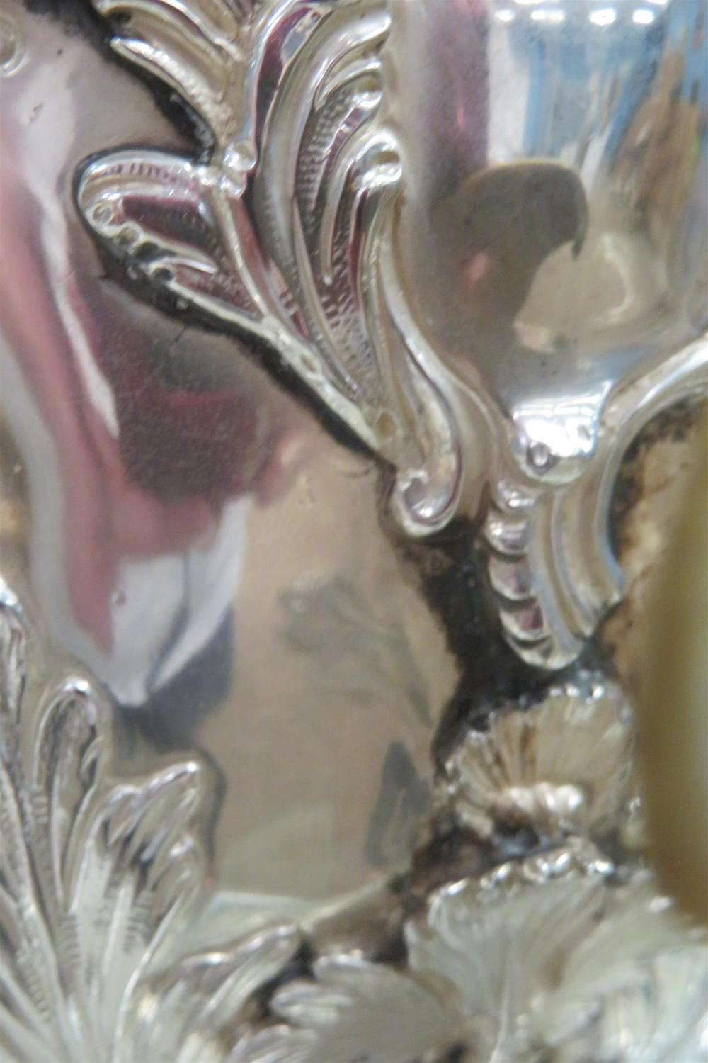 Fine George III silver hot water urn, Charles Wright