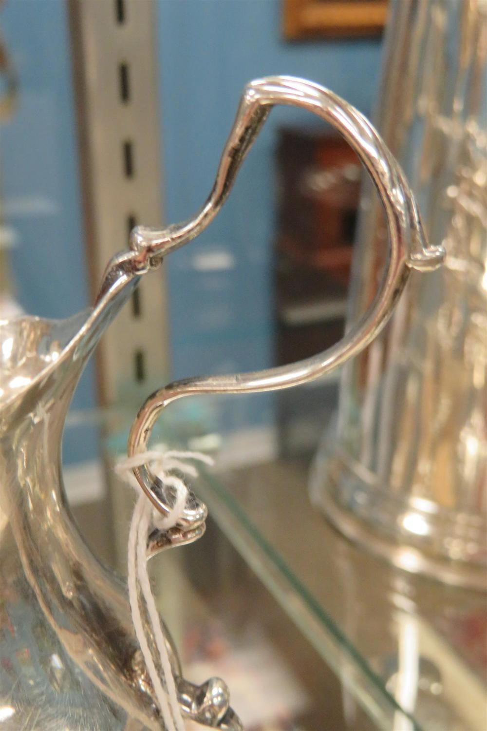 George III silver pitcher by Hester Bateman