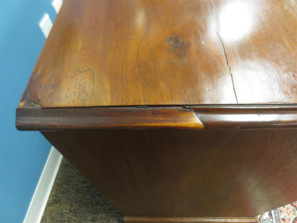 Georgian mahogany chest of drawers