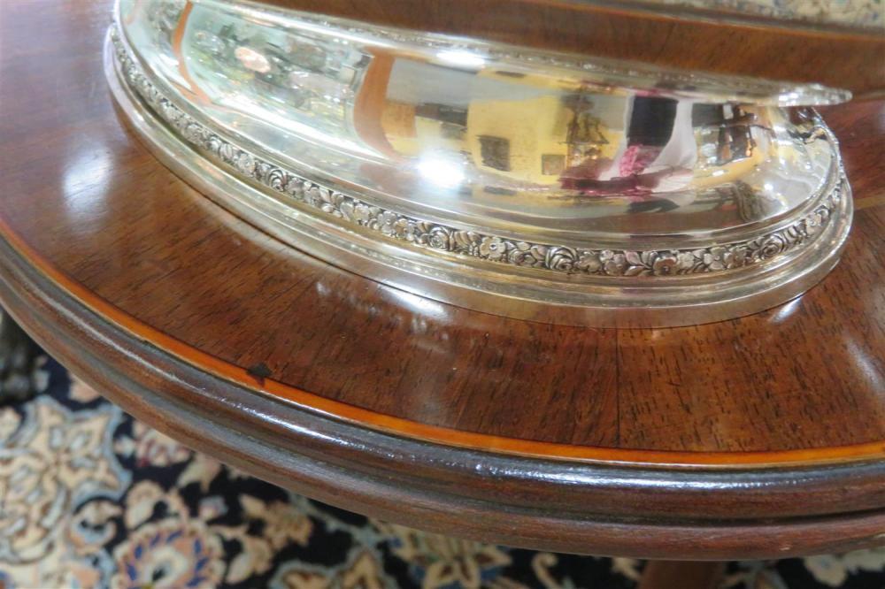 Fine Viennese silver centerbowl, Josef Carl Klinkosch
