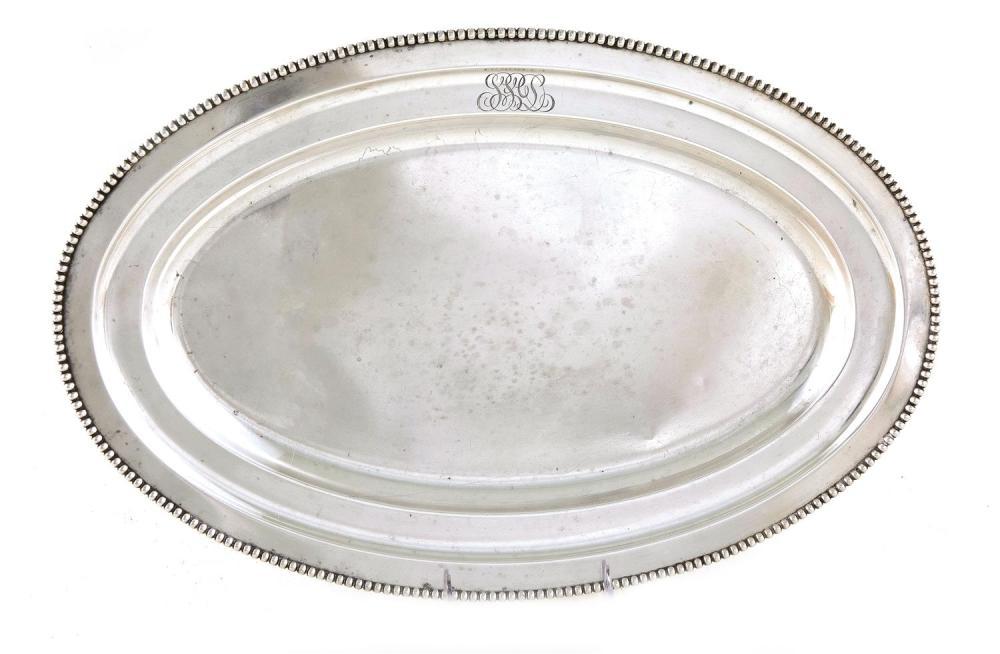 Reed & Barton silver meat platter