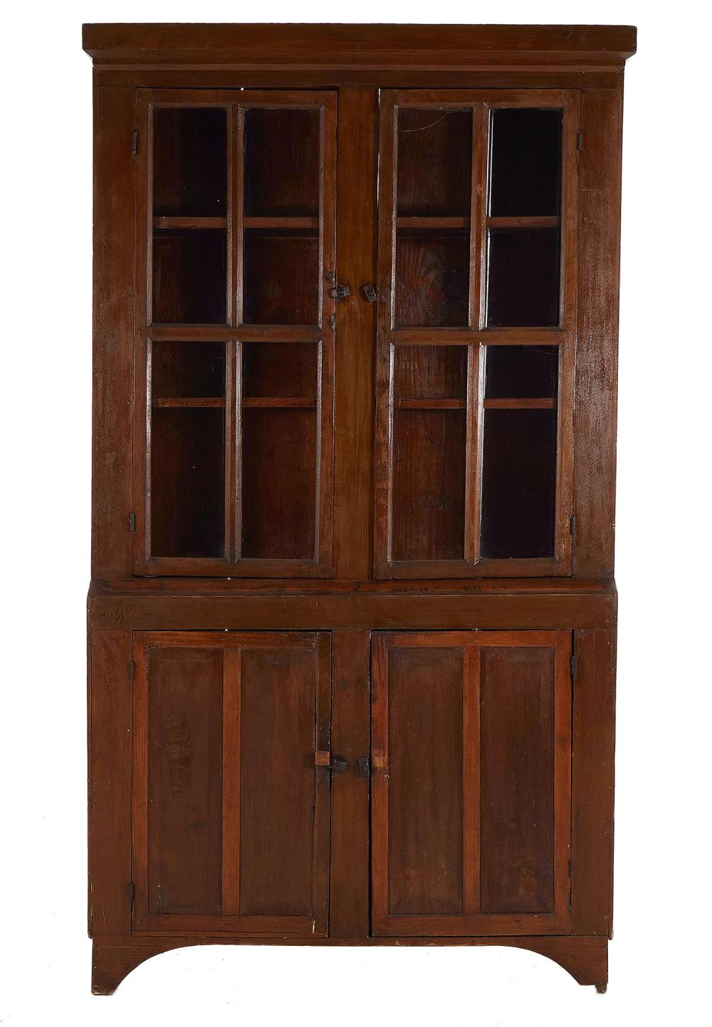 Southern pine cabinet