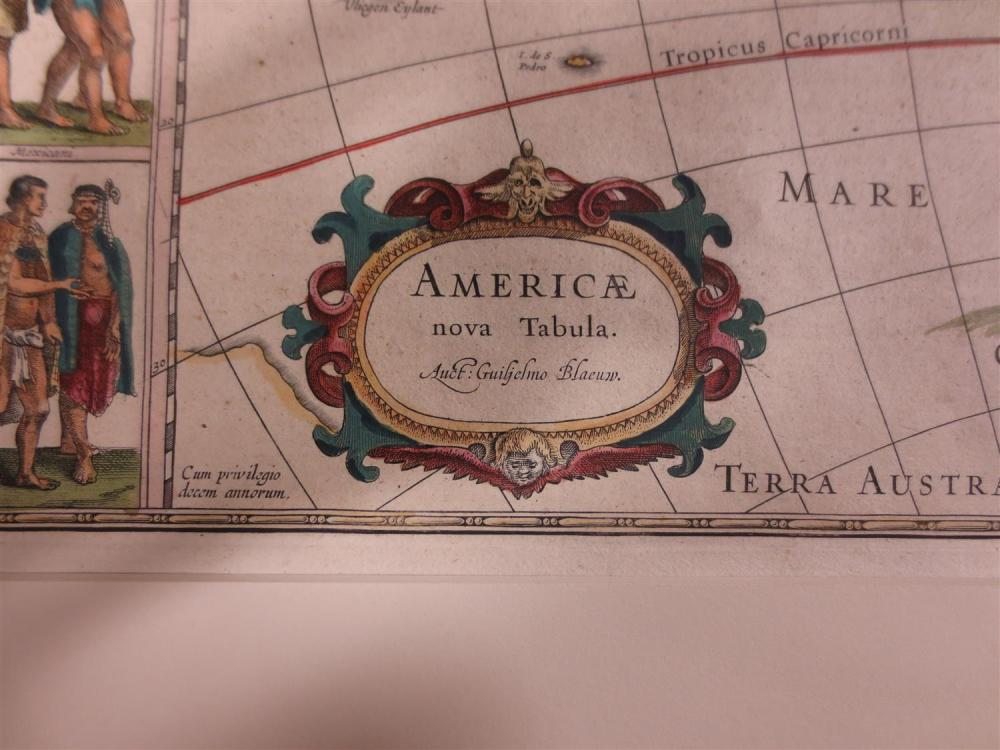 Americae Nova Tabula, map by Blaeu