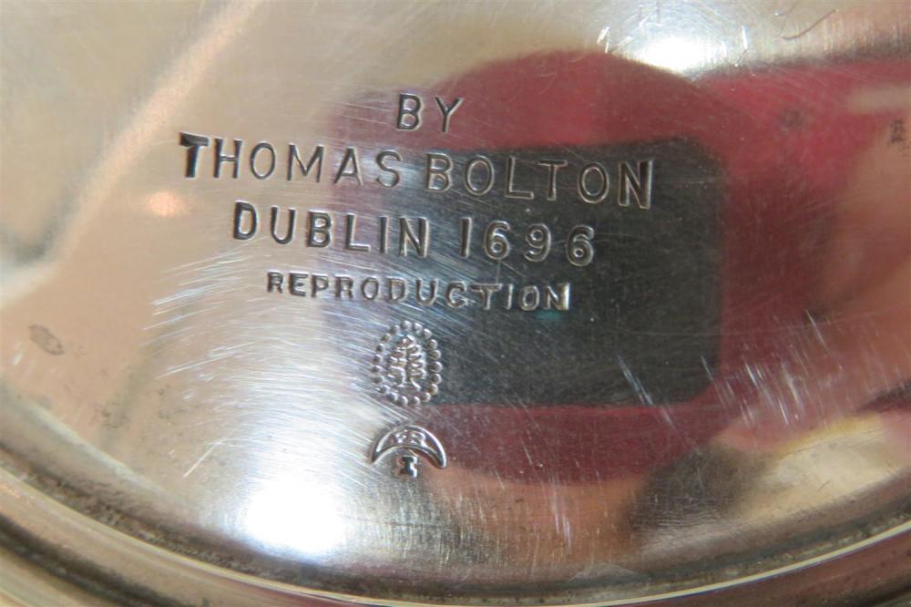 American silver bowls (5pcs)