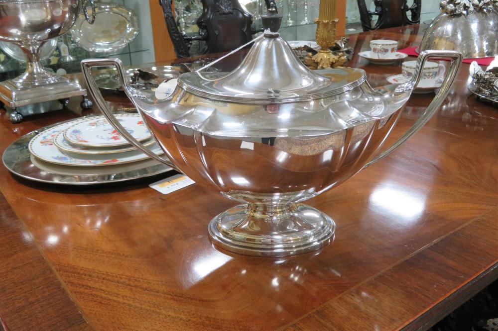 Gorham silver soup tureen
