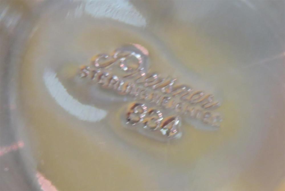 American silver three-light candelabra (4pcs)