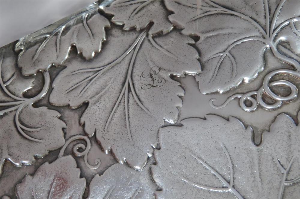 Reed & Barton grapevine silver dish