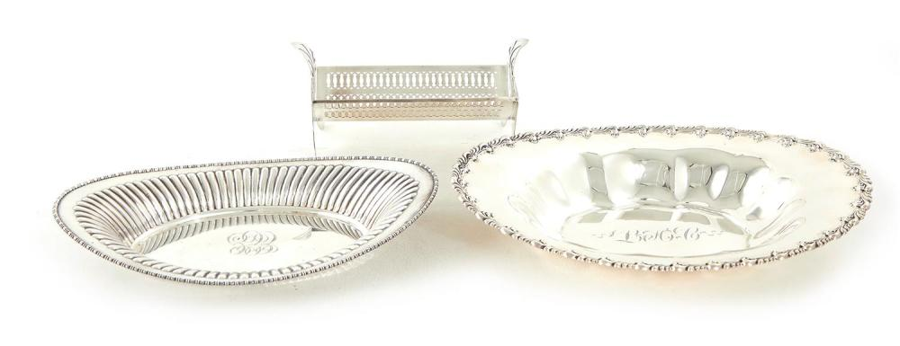 American bread and toast trays (3pcs)