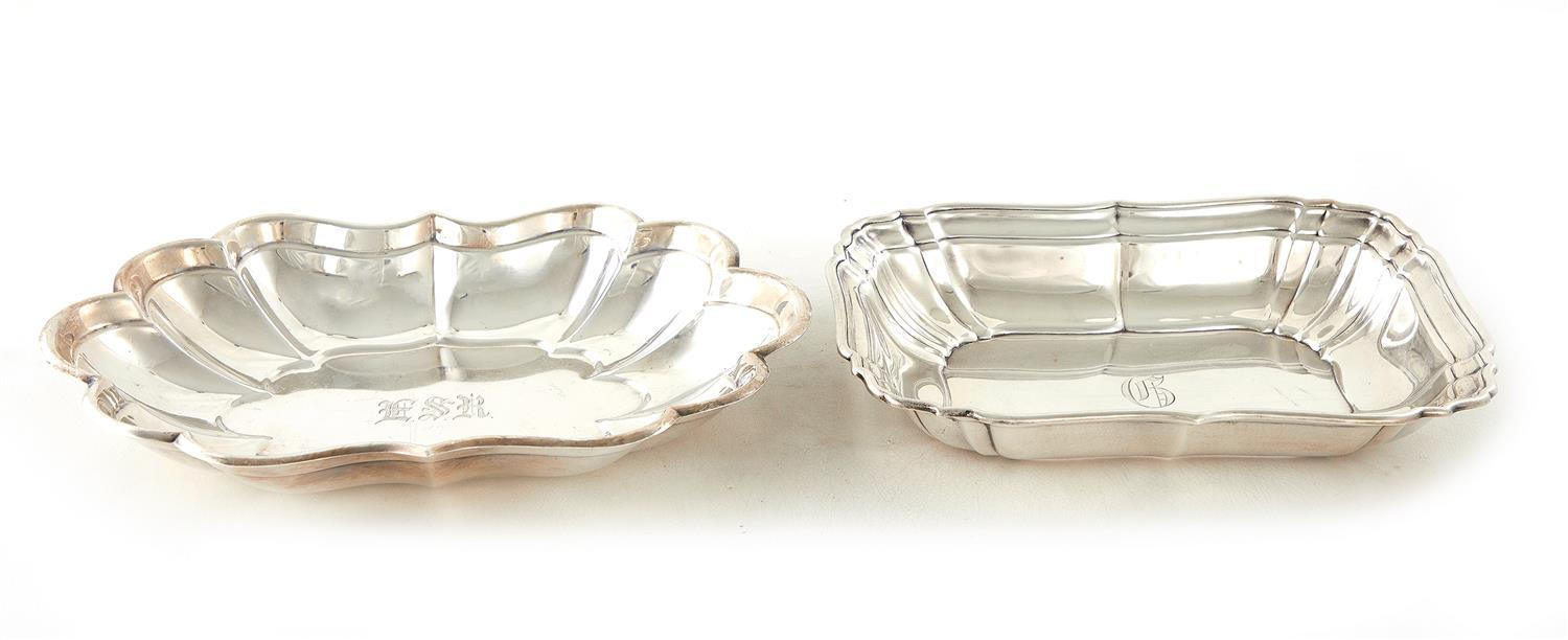 American silver serving dishes (2pcs)