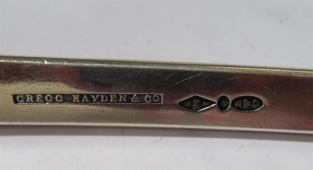 Southern silver ladle, Hayden, Gregg & Co