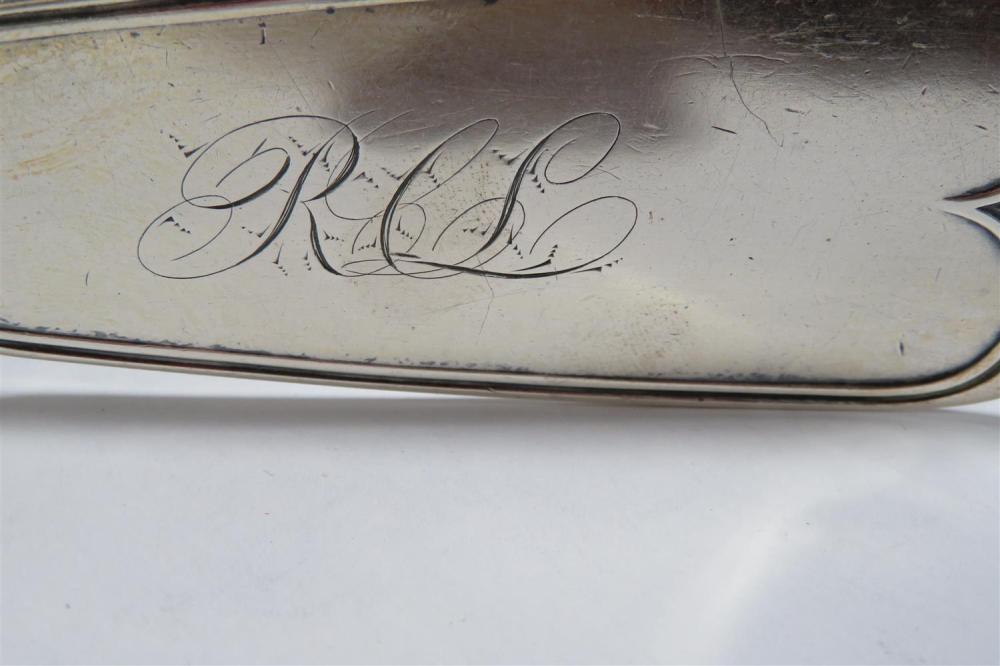 Southern silver ladle, W. Carrington & Co
