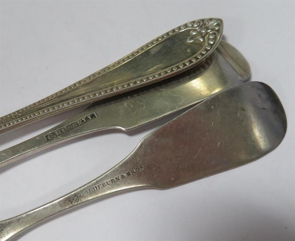 American silver spoons (40pcs)
