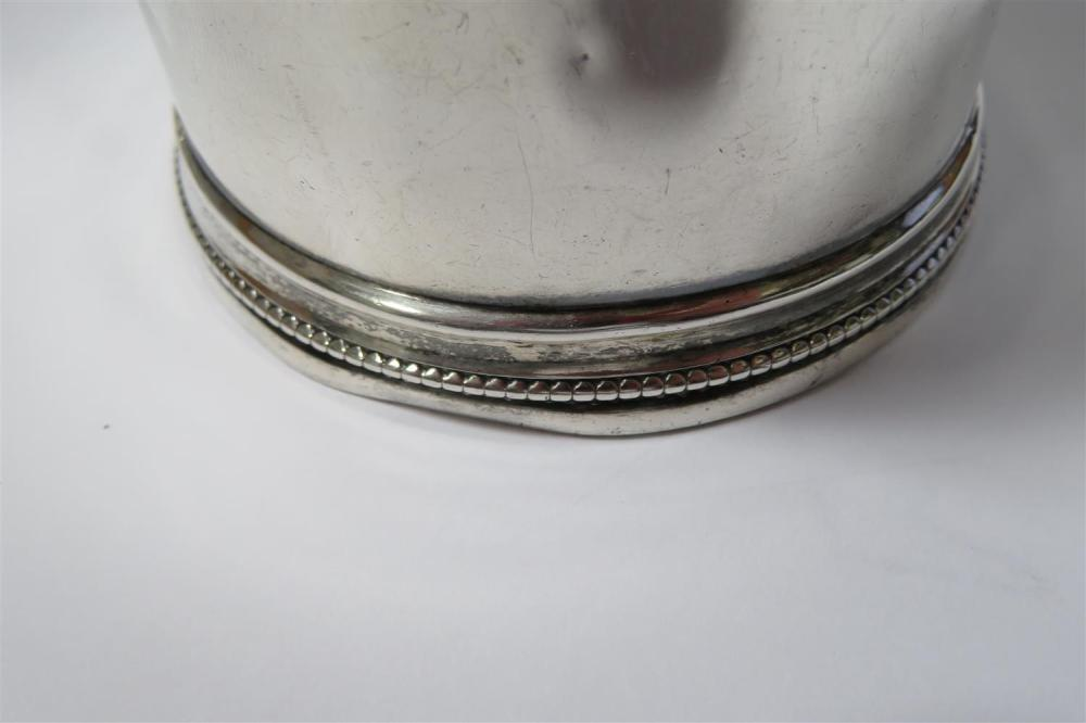 Southern coin silver cup, William Carrington