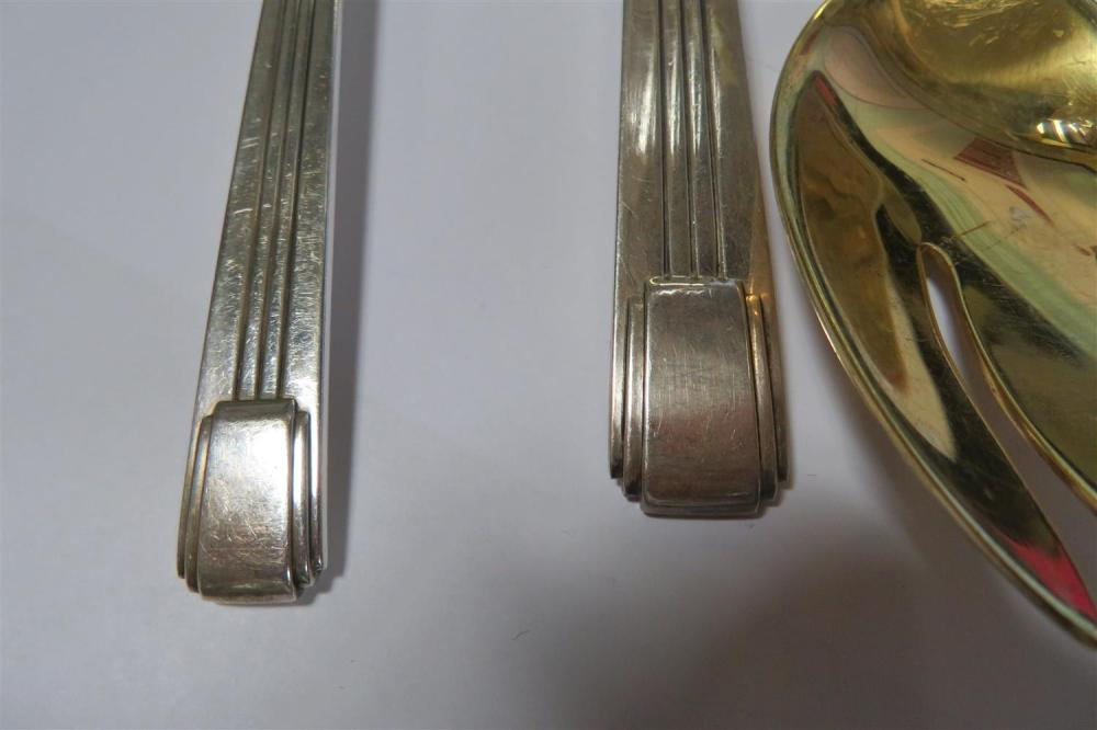 Tiffany & Co Century pattern silver serving pieces (3pcs)