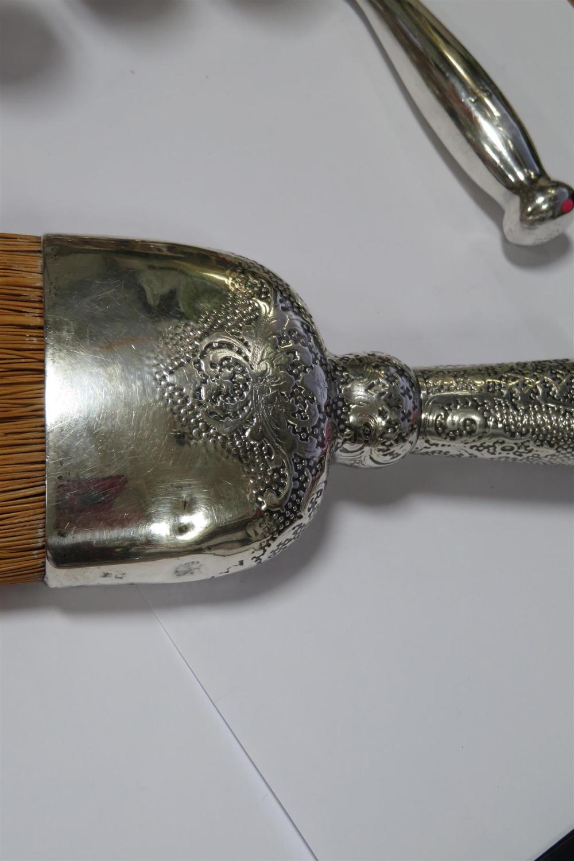 Tiffany & Co silver crumb brush